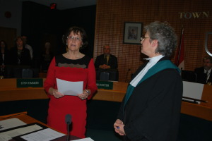 Mayor Sandra Easton