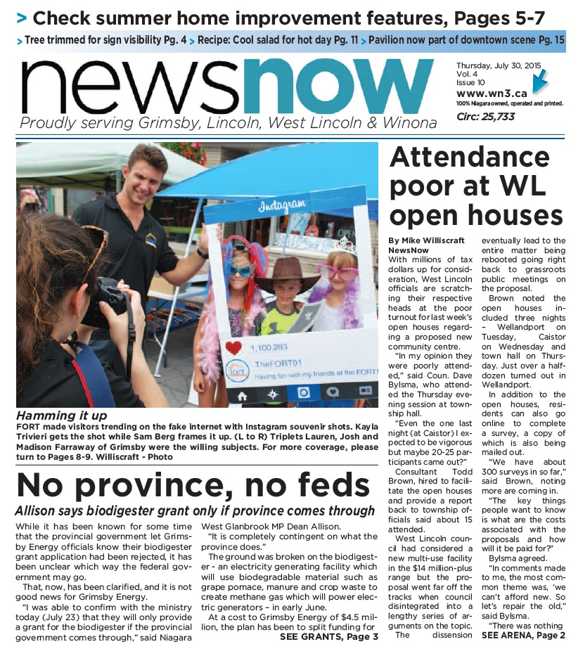 Front page July 30