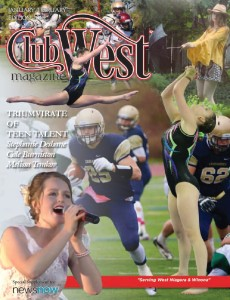 ClubWest January February 2016 Front Page