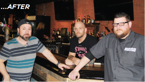 Wood, co-owner Chris Biggs and Russo were putting the finishing touches on things as the readied to open their doors. Co-owner Brett Poole was not on hand.