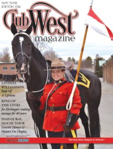 ClubWest full cover May June 2016