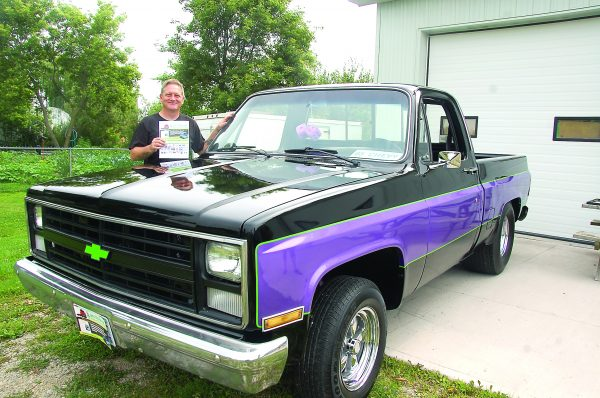 Jack Mulholland Chevy truck