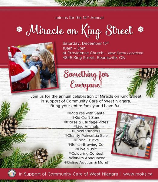 Miracle on King, Saturday, December 15