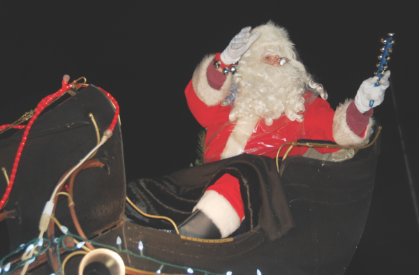 Santa Claus, Grimsby Parade, WLM Auxiliary