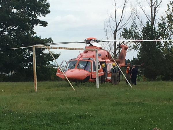 Ornge Rescue helicopter