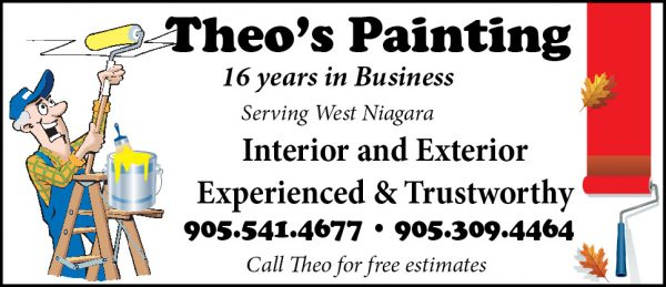 Ad fot Theo's Painting