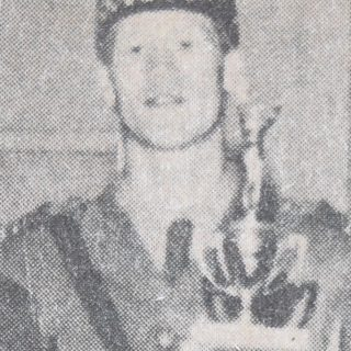 Barry Stark as a cadet in 1970.