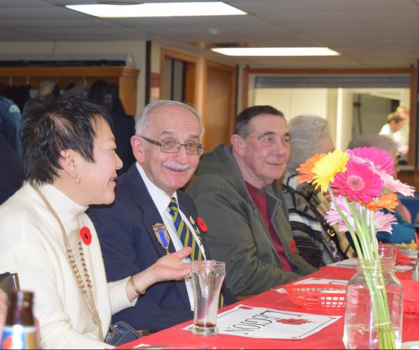 Guests at the Grimsby Legion's Veteran's Dinner
