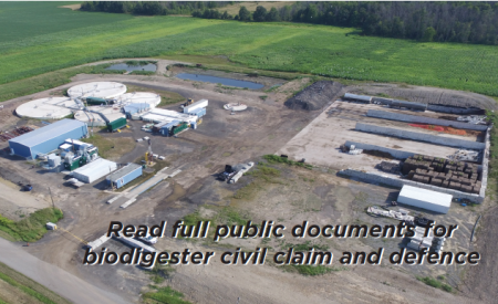 Read full public documents for biodigester civil claim and defence